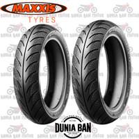 PAKET BAN MOTOR MATIC MAXXIS DIAMOND 100/80-14- 90/80-14 MA-3DN