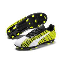 Sepatu Bola Anak PUMA ONE 5.4 FG/AG Jr White Green 105660 03