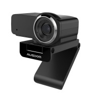 AUSDOM WebCam 1080P 12MP with Built-in Mic Live Streaming - AW635