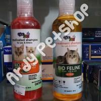 Shampo Kucing Bio Feline Anti Kutu / Anti Jamur