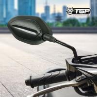 Spion Motor Honda Beat Vario 125 150 TGP Cembung No Tomok Bar End Jalu - Tangkai pendek