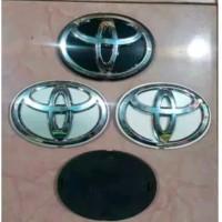 Emblem - Logo Belakang Tutup - Cover Ban Serep Toyota Rush