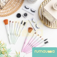 RUMAUMA Brush Shading Makeup 7 PCS - Kuas Set Serbaguna Murah Limited