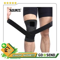 AOLIKES Pelindung Lutut Olahraga Knee Support Fitness - A-7720