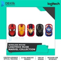 Mouse Wireless Logitech M238 MARVEL Collection