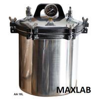 Autoklaf dari Baja (Autoclave Stainless Steel), 18 Liter