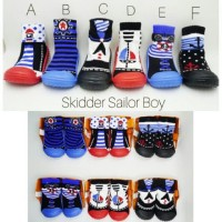 Skidder Shoes / Sepatu Skidders Cotton's Mill / Kaos Kaki Sepatu Bayi