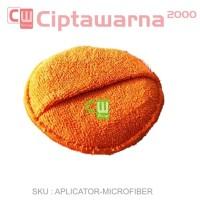 Applicator Pad Microfiber POCKET Wax Poles Mobil Motor Aplicator