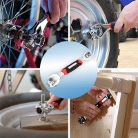 Kunci Pas Ring Pas set Mur Baut Universal Tiger Wrench 48 IN 1 Tools A