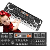 Piano Anak Electronic Keyboard Electric Organ 61 Keys With Microphone