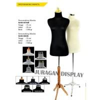 MANNEQUIN DRESS MAKING CREAM BAJU|KAKI BESI|SET