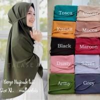 Bergo Maryam Diamond XL / Hijab Instan ukuran Jumbo / Jilbab Cantik