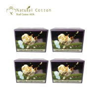 Natural Cotton Super Long Overnight Pads 41,5cm (4 pack)