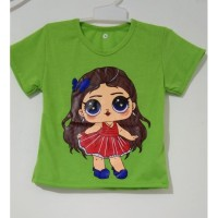 baju anak atasan perempuan LoL 1-8 tahun