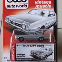 Diecast, AUTO WORLD, 1966 OLDSMOBILE 442