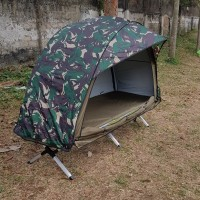 TENDA VELBED(tenda nya saja) bahan taslan bening