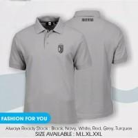 polo shirt juventus premium / kaos kerah juventus