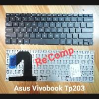 Keyboard Asus VivoBook Flip 12 TP203 TP203N TP203NAH - Black