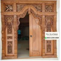 Pintu Gebyok Jati Ukiran Untuk Masjid