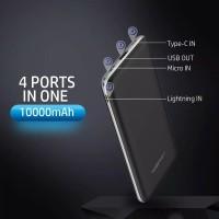 Original Powerbank Fast Charge Slim 10000 mAh Real Capacity Mofit M12