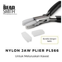 Tang Pelurus Beadsmith Nylon Jaw + Reffil Kepala Nylon