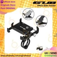 Holder HP Sepeda - Motor Aluminium Bike Phone Holder GUB PRO3 Bicycle