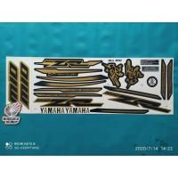 Striping Stiker Motor Yamaha All Mio sporty variasi zr gold