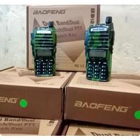 HT BAOFENG UV 82 DUAL BAND VHF UHF DUAL PTT ARMY