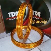 Velg - Rim TDR W Shape Ring 14 x 140/160 warna Gold