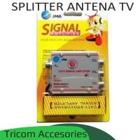 Splitter Antena TV 3 cabang - Antena paralel CATV Signal Amplifier