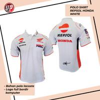 New Polo Shirt Repsol Honda White 2020 - S