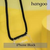 Casing hp iPhone tali hitam hangoo
