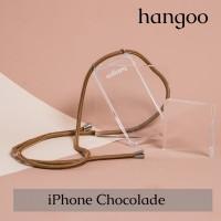 Casing hp iPhone tali Coklat
