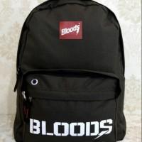 Tas sekolah ransel sport import BLOODS Original.Import Free Raincover