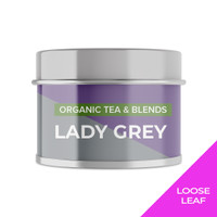 LADY GREY   Mini Tin   Cocodeli by Haveltea Organic Teh Hitam Bergamot - Loose Leaf 15g