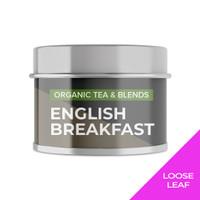 ENGLISH BREAKFAST   Mini Tin   Cocodeli by Haveltea Organic  Teh Hitam - Loose Leaf 15g