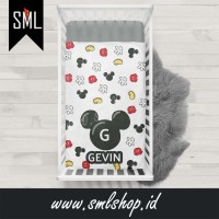 Selimut Bayi / Baby Blanket / Baby Bedsheet / Badcover - Mickey 001 - S