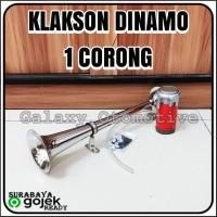 Klakson Terompet 1 Corong + Dinamo