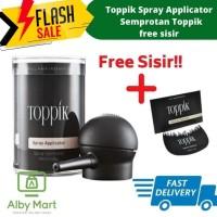 Toppik Spray Applicator - Semprotan Toppik - Original FREE SISIR
