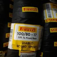 BAN PIRELLI DIABLO ROSSO SPORT 100/80 RING 17