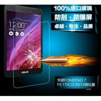 Tempered Glass Clear Asus Fonepad 7 FE170CG K012 Anti Gores Kaca 9H Sc