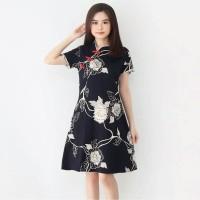 Dress Batik Wanita/Batik Pesta/Batik imlek