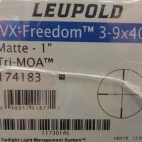 telescope tele leupold vx freedom 3-9x40 tri moa