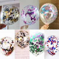Balon Latex / Lateks Confetti 12 inch Mix Dua Warna