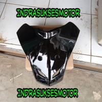 tameng dasi body depan motor supra fit new supra fit x hitam