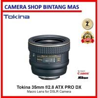 Tokina 35mm f/2.8 AT-X PRO DX Macro Lens for Nikon DSLR camera