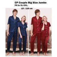 CP Couple Piyama Satin Big Size / Ukuran Besar Jumbo GS Collection