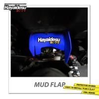 Hayaidesu Mud Flap Penahan Lumpur Motor Honda Vario FI - Japan Quality