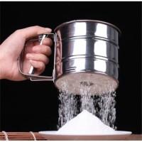 [IMPORT] Cangkir Ayakan Tepung Stainless / Saringan Tepung Stainless