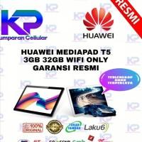 HUAWEI MEDIAPAD T5 3GB 32GB GARANSI RESMI WIFI ONLY